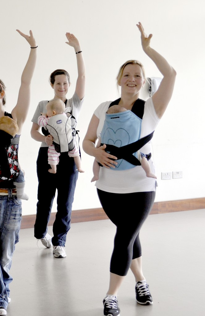 Sling and Dance Fitness for Mums, Anna in Lucan