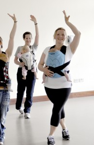Sling and Dance post-natal fitness
