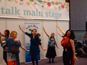 Baby Talk Festival Active Mums