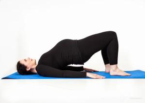 Pregnancy Yoga Bridge