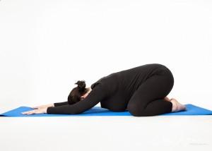 Pregnancy Yoga Child's Pose