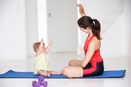 baby friendly workout