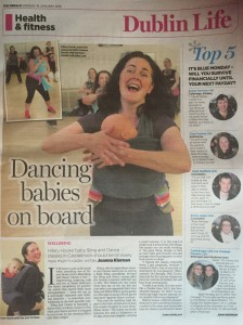 Sling and Dance Article in the Herald 18/1/16